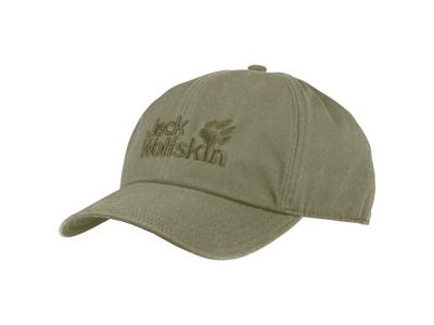 Jack Wolfskin Baseball Cap - One size 56-61cm - Khaki