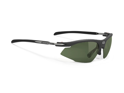 Rudy Project Rydon Golf - Løbe- og cykelbrille - Racing red Linser - Carbon stel