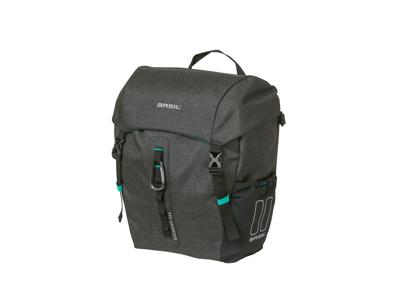 Basil Discovery 365D - Cykeltaske til bag - Single - 9 liter - Black melee