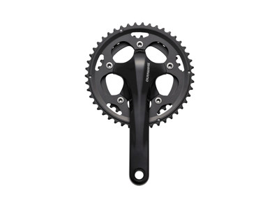 Crankset 10-speed black