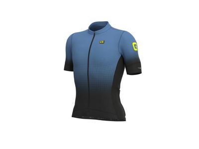 Alé PRS Dots - Cykeltröja med korta ärmar - Svart / dammig grå
