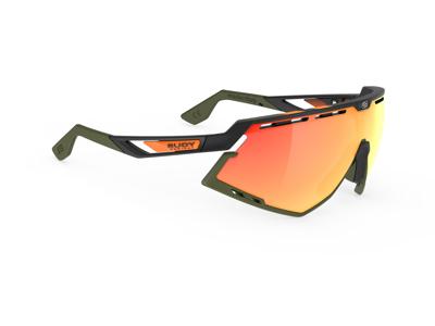 Rudy Project Defender - Løbe- og cykelbrille - Multilaser orange - Mat sort oliven