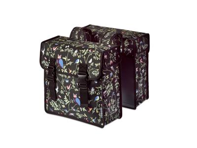 Basil Wanderlust Double Bag - Cykeltasker til bagagebærer - 35 liter - Charcoal
