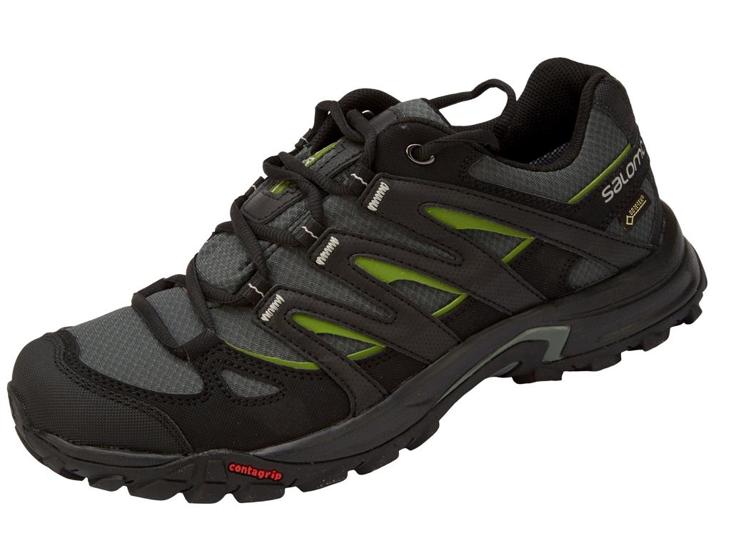 Eskape GTX-(Standard) Herre 41 1/3 sort/grøn | cykelsko