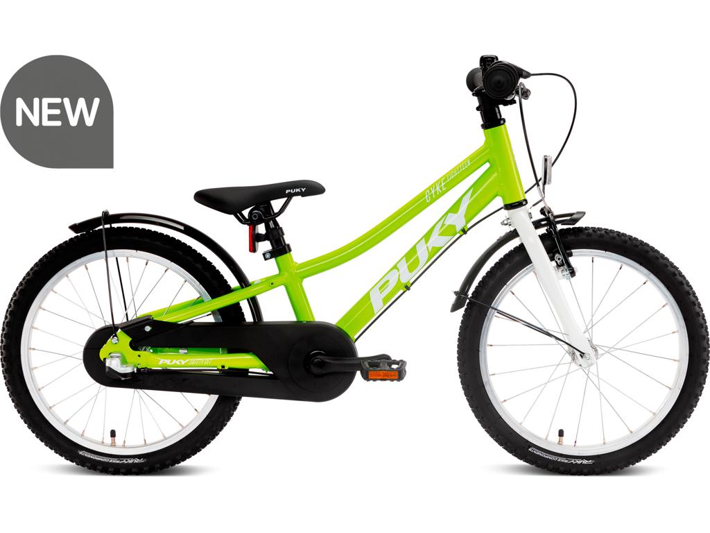 "Puky Cyke - Børnecykel 18"" med 3 gear - Alu - Green/white"