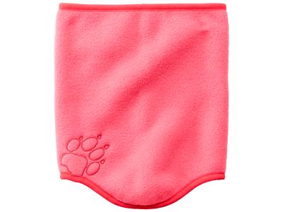 Jack Wolfskin Baksmalla - Fleece halsedisse - Kids - One size - Coral pink