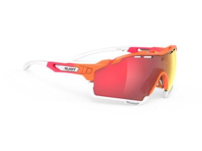 Rudy Project Cutline - Løbe- og cykelbrille - Multilazer red linser - Orange/Coral