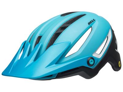 Bell Sixer Mips - Cykelhjälm - Ljusblå / svart