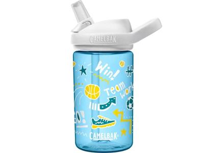 CamelBak Eddy+ Kids - Drikkeflaske - 0,4 liter - Doodle Sport