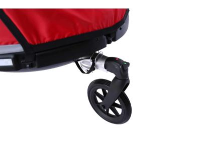 Winther Dolphin XL - Cykelanhænger til børn - Rød