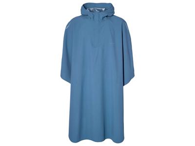Basil Hoga Rain Poncho - Vandtæt poncho - Unisex - Blue