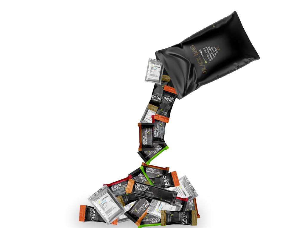 PurePower Black Bag #2 - Protein Bag - Pose med 25 stk.