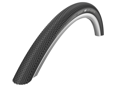 Schwalbe G-One Allround - Gravel Foldedæk - 27,5x1,35 (35-584) Sort