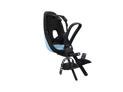 Thule Yepp Nexxt Mini - Cykelstol med 5-punktssele - Formonteret - Sort/blå