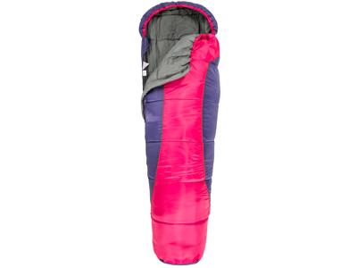 Trespass Bunka - Junior-sovepose - Letvægt - 175 x 65 x 45 cm - Lilla