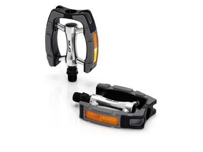 XLC - PD-C07 - Citybike pedal - 265 gram - Sort