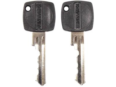 Kryptonite Kryptoflex - Kabellås med nøgle arameret model 2080 - 80cm