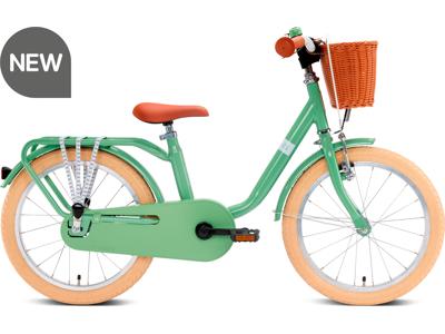 "Puky - Classic 18 - Børnecykel 18"" - Alu - Retro green"