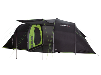 High Peak Tauris 4 - 4 personers telt - Mørkegrå/grøn