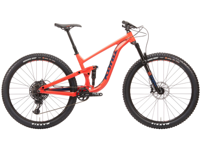 "Kona Process 134 AL/DL - MTB 29"" - Full Suspension - 12 gear - Orange - Str. M"