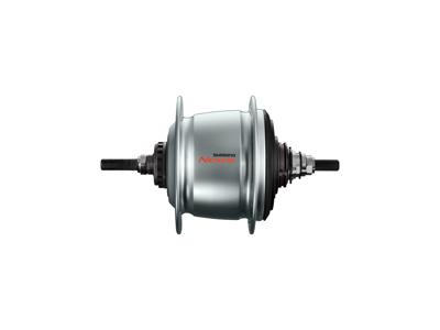 Shimano Nexus - Bagnav med 8 gear og til skivebremse - Type: SG-C60018-D-AL - Sølv