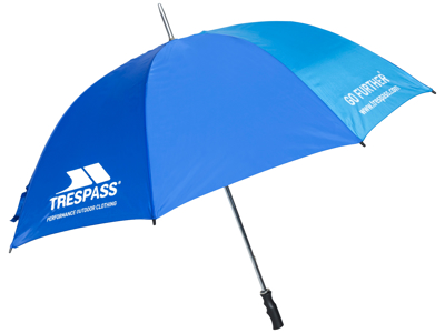Trespass Umbrella Golf - Paraply - Blå