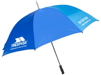 Trespass Umbrella Golf - Paraply - Blå