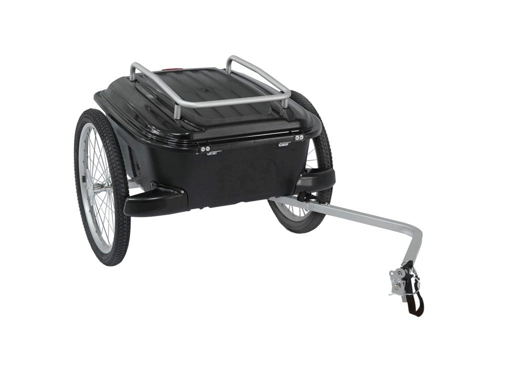 Køb M-Wave Stalwart Carry Box – Cykeltrailer – Hardboks – Vandtæt – Safety lock – Max vægt 25