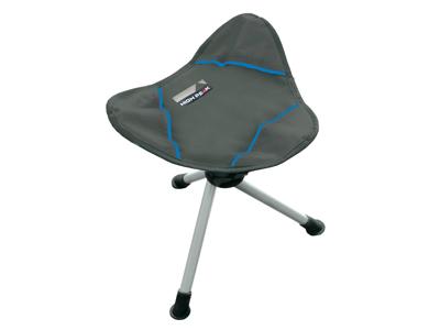 High Peak Tarifa - 3-benad stol - Grå / blå