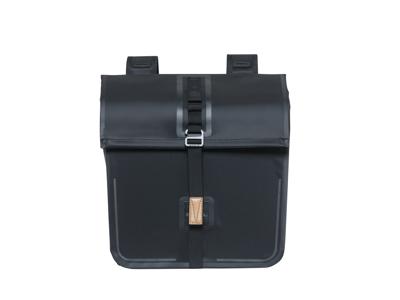 Basil Urban Dry - Cykeltaske til bag - Double - 50 liter - Black