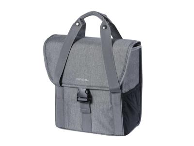 Basil Go Single bag - Cykeltaske - 16 liter - Grey melee