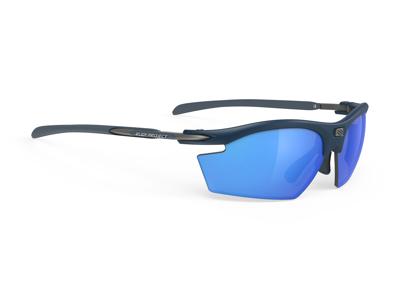 Rudy Project Rydon - Løbe- og cykelbrille - Multilaser blue Linser - Mat blå stel
