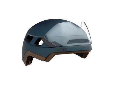 Lazer Urbanize NTA MIPS - Cykelhjelm med LED lys - E-bike - Mat mørkeblå