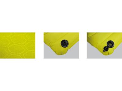 High Peak Dallas - Luftmadras med integreret fodpumpe - 197 x 70 x 10 cm