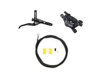 Shimano XT M8120 - Hydraulisk bremsesæt Trekking - Bag/Højre - 4 piston
