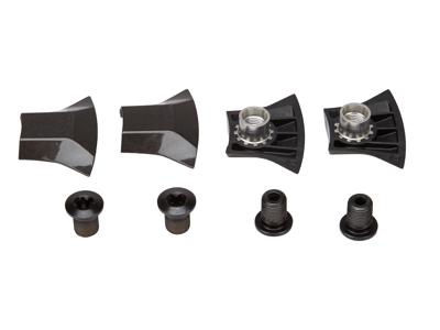 Shimano XT - Klingebolte - 4 stk. -  M8 x 10,1mm - Til triple kranksæt ydre - FC-T8000