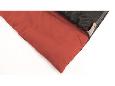 Easy Camp Astro L - Sovepose til voksne - Sort/rød