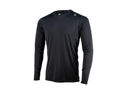 Rogelli Basic - Sport-T-shirt - Långa ärmar - Svart