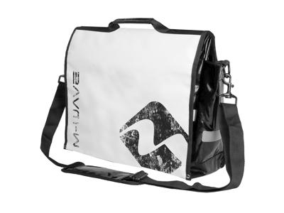 """M-Wave Canada Lockers Bay - Taske """"Messenger bag"""" - Passer til 15"""" notebook - Hvid"""