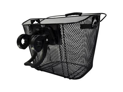 OXC - Snabbkopplingsfäste - För cykelkorgs front - Svart