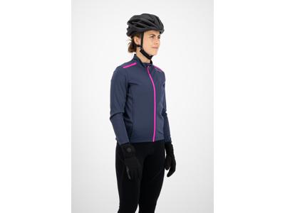 Rogelli Pesara - Vinterjakke Dame - 0 til 10 grader - Blå/Pink