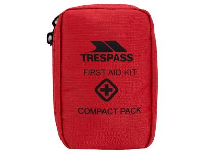Trespass Help - Kompakt førstehjælpskit - Rød - 23 dele