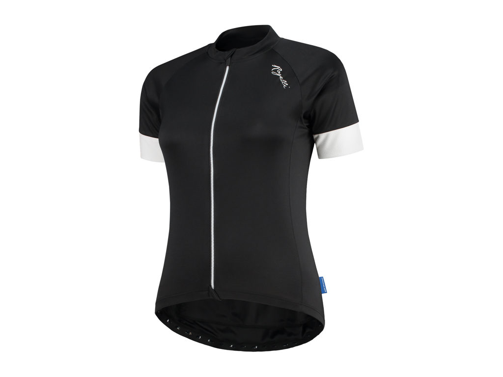 Rogelli Modesta - Cykelbluse - Dame - Comfort Fit - Sort/Hvid - Str. XS