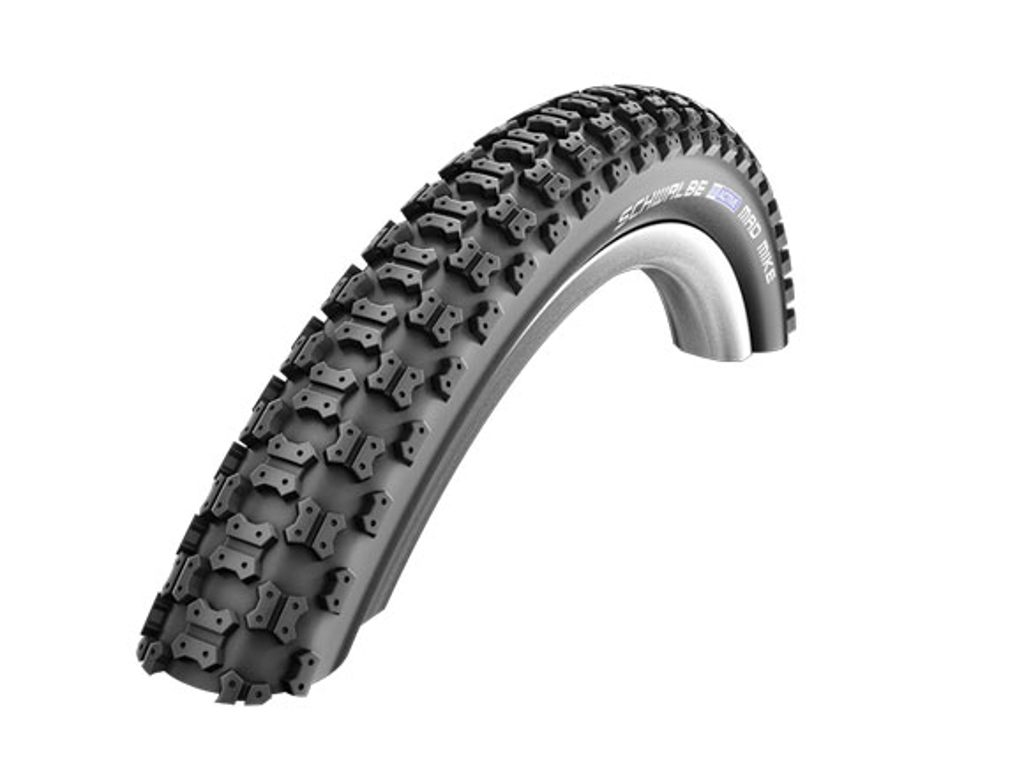 Schwalbe Mad Mike - K-Guard Tråddæk - 20x1,75 (47-406) Sort thumbnail