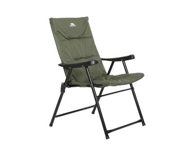 Trespass Paddy - Camping stol - Foldbar - Stål ramme - Oliven