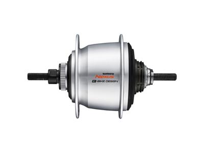Shimano Nexus Di2 - Bagnav med 5 gear og til skivebremse - SG-C7050-5-DAS - Sølv