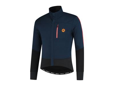 Rogelli W2.2 - Cykeltröja - Långa ärmar - Blå / Orange