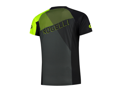 Rogelli Adventure - Cykeltrøje MTB - Korte ærmer - Sort/Grå/Gul
