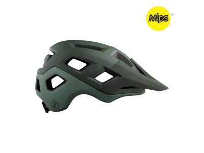 Lazer Coyote MIPS - Cykelhjelm MTB - Mat mørkegrøn