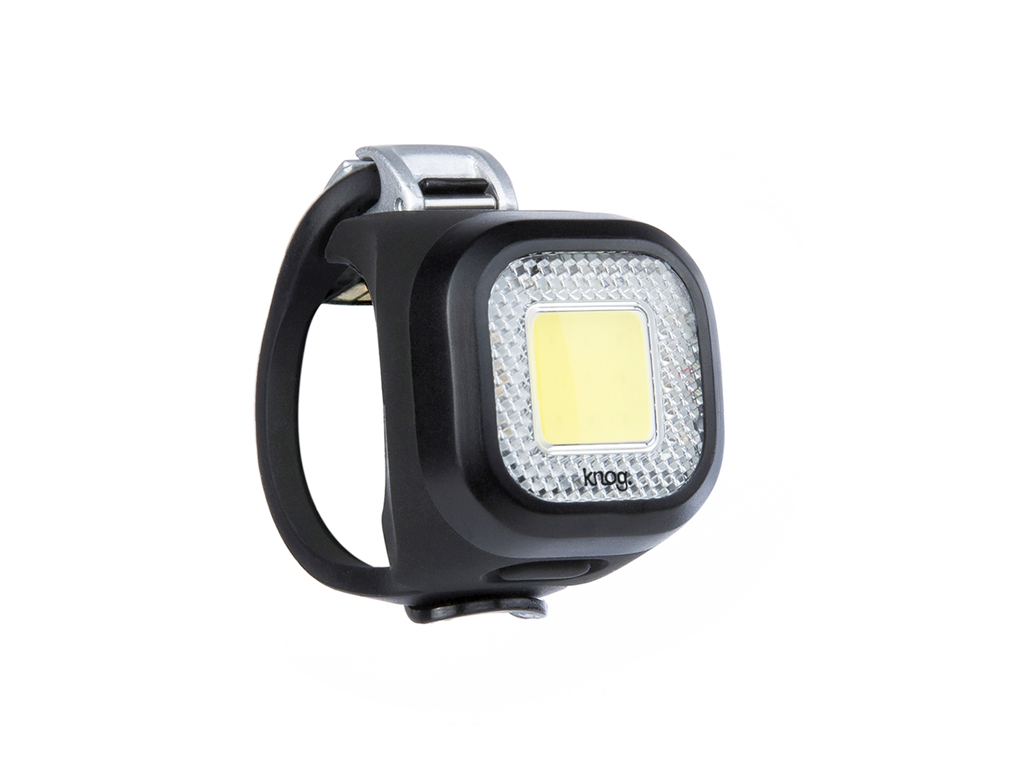 Image of   Knog Blinder Mini Chippy - Cykellygte til front - Sort